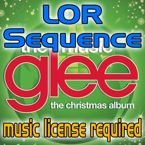 home christmas deck the rooftop glee cast