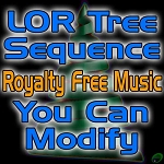 The First Noel, tree sequence using royalty free music (you can modify)